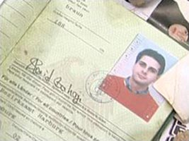 Said Bahaji&#8217;s passport recovered in 2009.